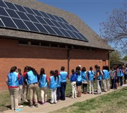 Wichita University UMC dedicates new roof-top solar array on Earth Day