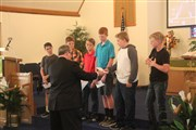 Confirmands in Ogallala put their 'talents' to use for church
