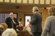 Crowd at Hays town hall concerned over impact on local churches