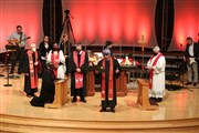 In delayed ceremonies, 29 clergy commissioned, ordained