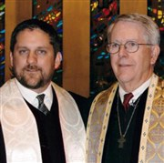 Mayor remains church pastor, thanks to dad