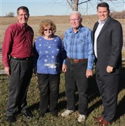Central Kansas farm couple breaks new ground for UM Foundation