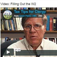 Tips for clergy filling out tax forms
