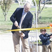 UM Ministries cuts ribbon to new space for The Big Garden