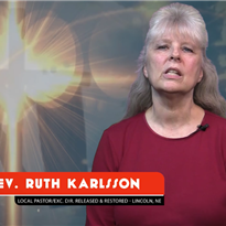 Call to Ministry - Local Pastor - Ruth Karlsson
