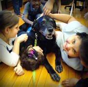 Paws and Play: therapy dog ministry fun for all
